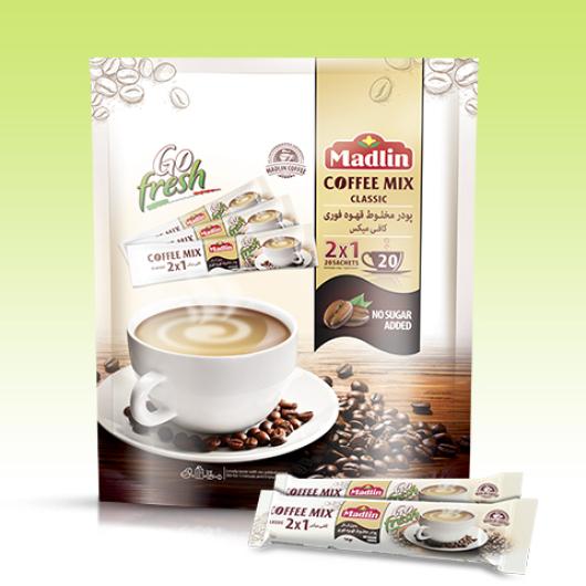 پودر مخلوط قهوه فوری بدون شکر (1*2)